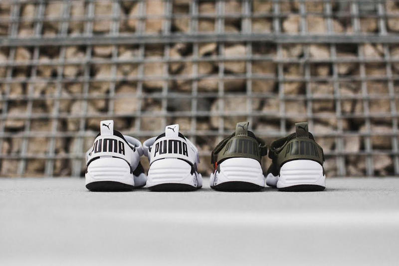 7c9235caa94b1b PUMA Introduces Its First-Ever Trinomic Open Sneaker. Which kind of reminds  us of the Nike Air Rift. 1 of 3. 2 of 3. 3 of 3