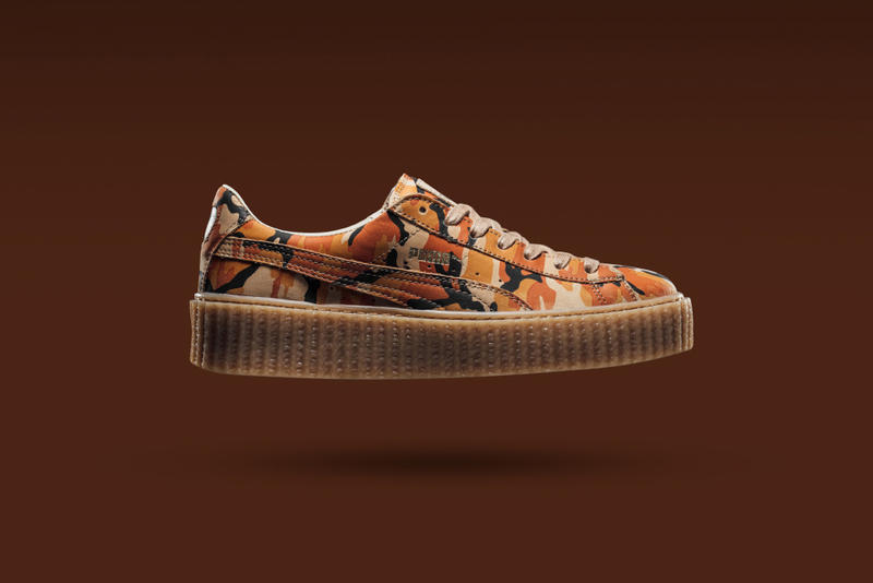 08110fa4e06c4 Rihanna's Next PUMA Creeper Is Covered in Camo