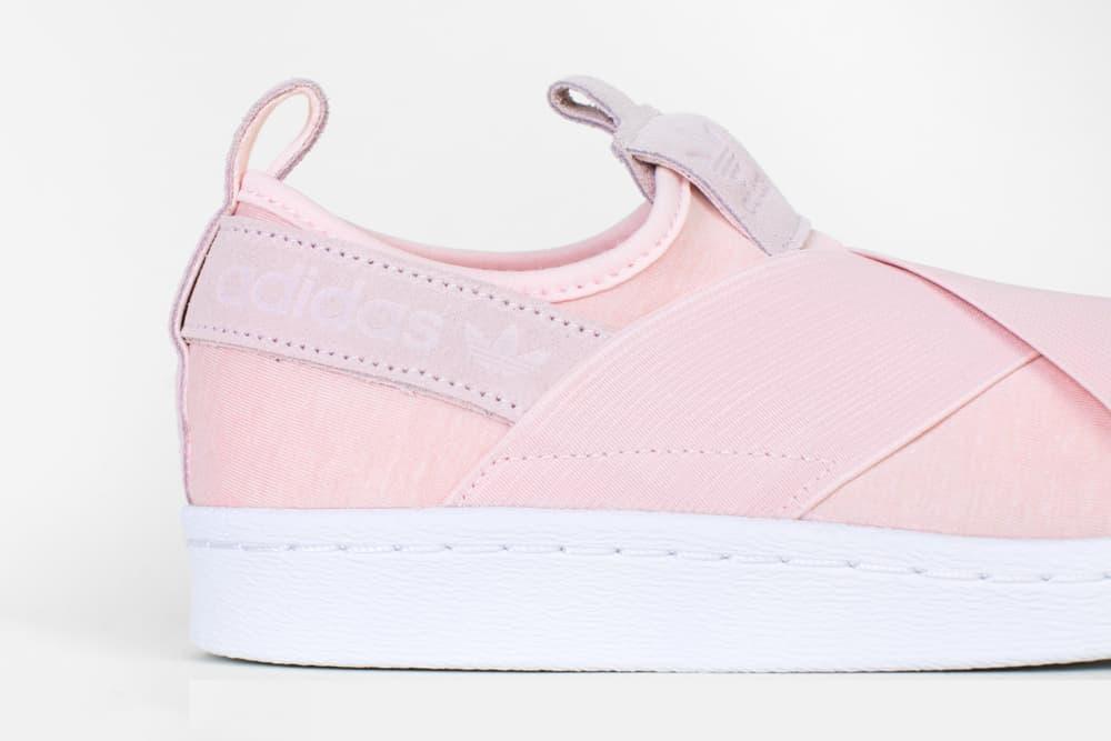 finest selection c071a 79893 A Light Pink Breeze Covers adidas Originals' Superstar Slip ...
