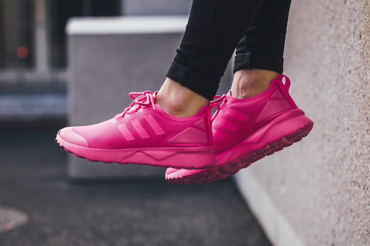 adidas flux womens pink