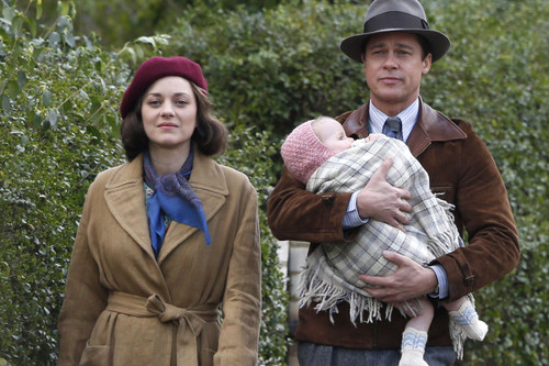 Marion Cotillard and Brad Pitt Are Secret Agents in Upcoming Thriller   Allied  cd3fa5785