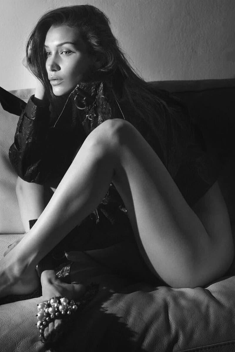 Bella Hadid Poses Vogue Paris 2016 Cover