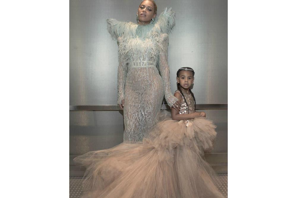Beyonce Blue Ivy VMAs Dress