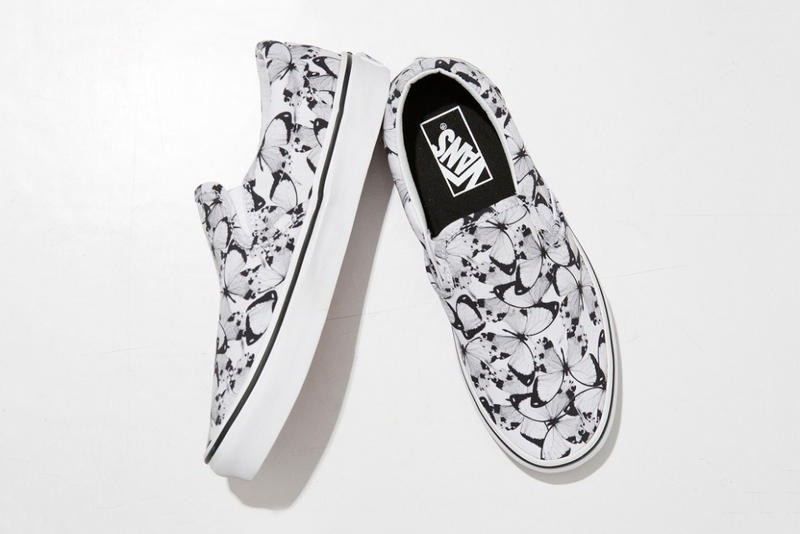 d66d0ff1d7f0b FACETASM x Vans Butterfly Authentic and Slip-On Sneakers