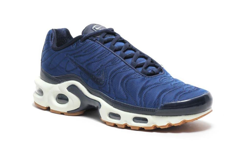 c49b61b2e0 Nike Air Max Plus Premium Crystal Blue Satin | HYPEBAE