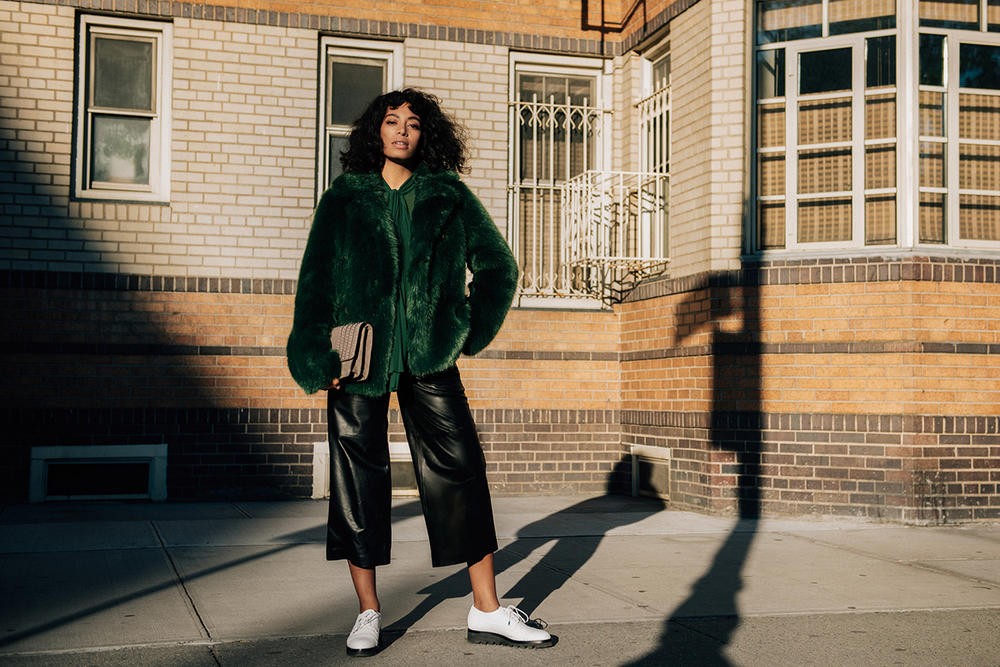 Solange Knowles Michael Kors 2016 Fall Winter The Walk Campaign