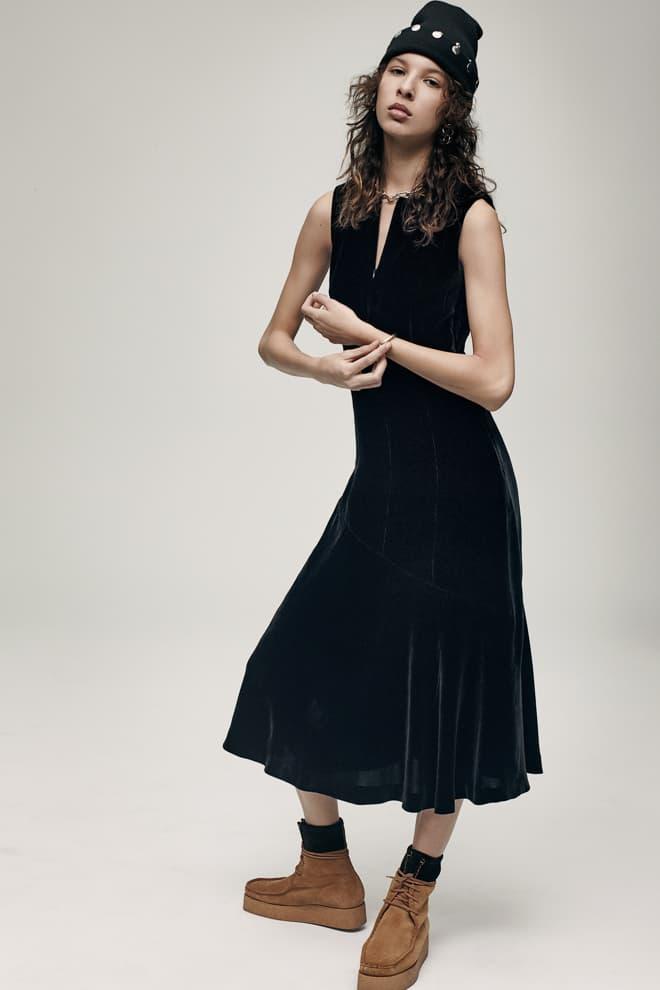 T by Alexander wang streetwear velvet satin fall winter collection