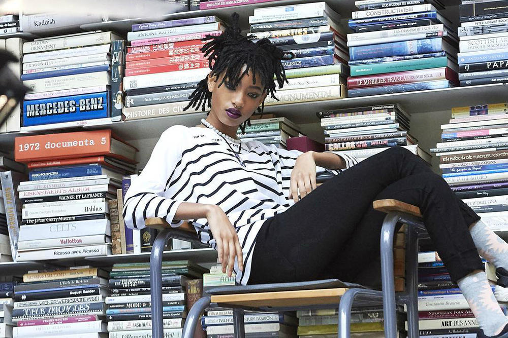 Willow Smith Chanel Campaign BTS