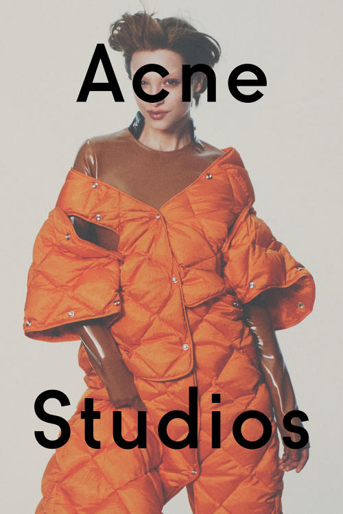 acne studios david sims 2016 fall winter campaign