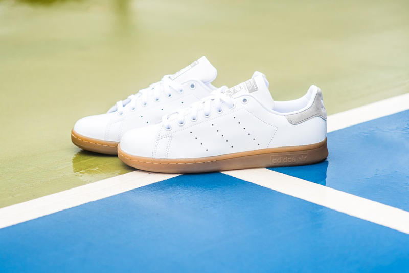 20ac4f72f449 adidas originals stan smith gum sole tennis trainers sneakers