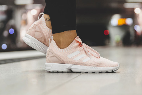 cheaper c301e 4be22 The adidas ZX Flux Primeknit Gets a Pastel Rework In
