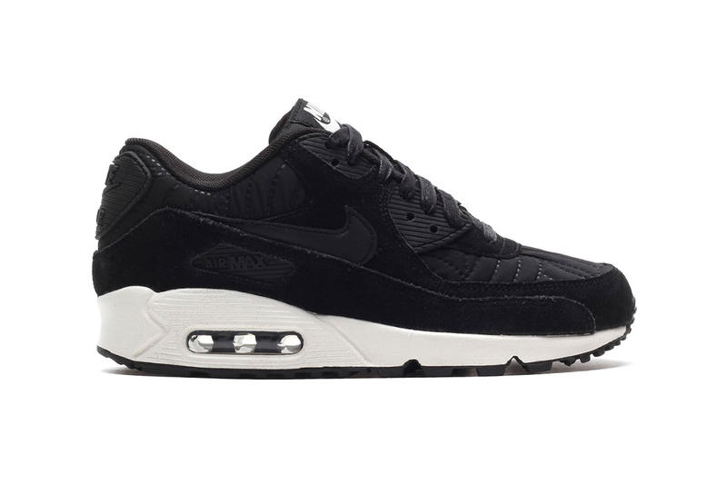 nike air max 90 premium quilted suede