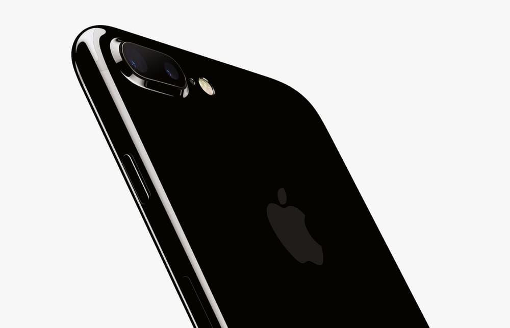 iPhone 7 Jet Black Scratch