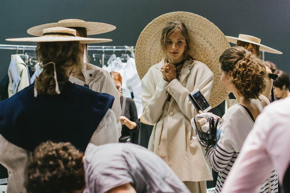 backstage jacquemus paris fashion week 2016 pfw behind the scenes bts