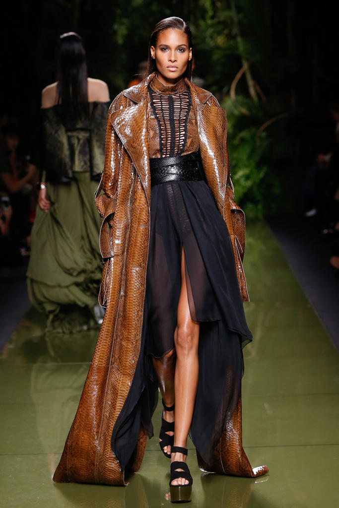 Balmain Paris Fashion Week 2017 Spring Summer