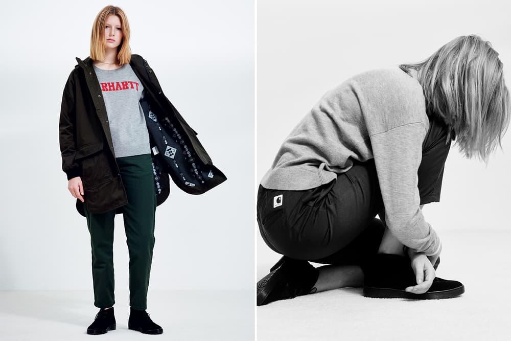 Carhartt WIP 2016 Fall Winter Lookbook workwear overalls denim