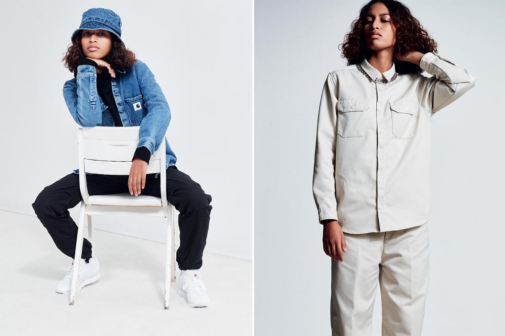 Carhartt WIP 2016 Fall Winter Lookbook workwear overalls denim