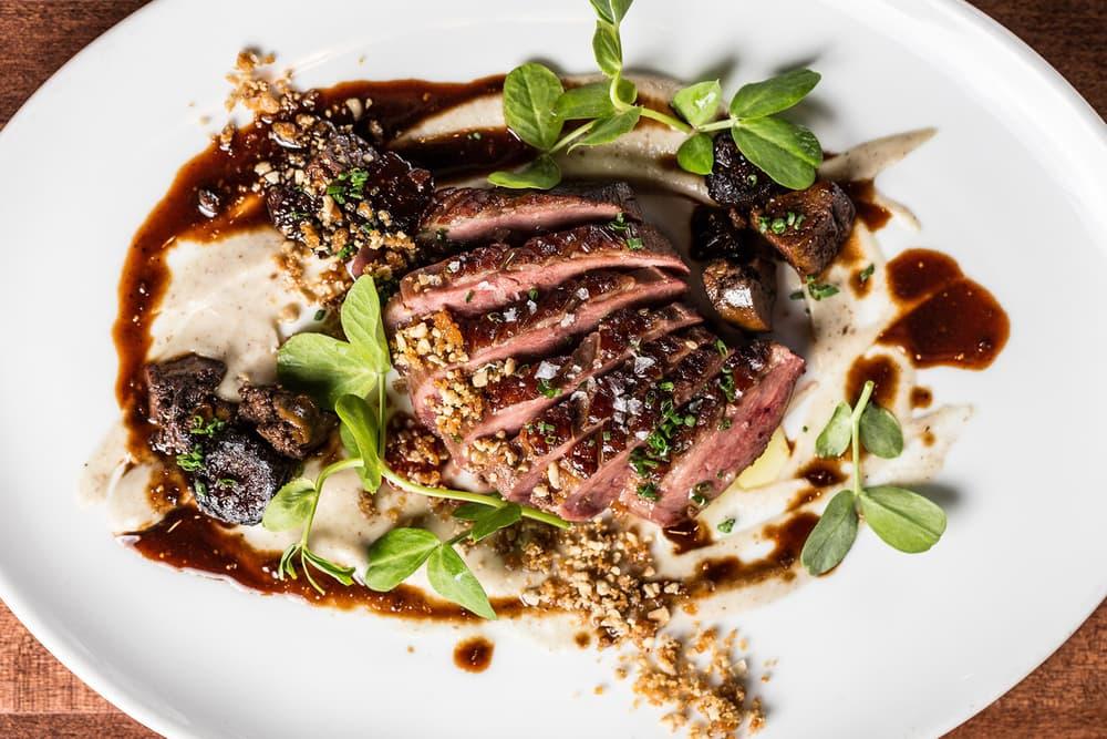 conde nast traveler best restaurants steak beef gourmet foodie dinner salad
