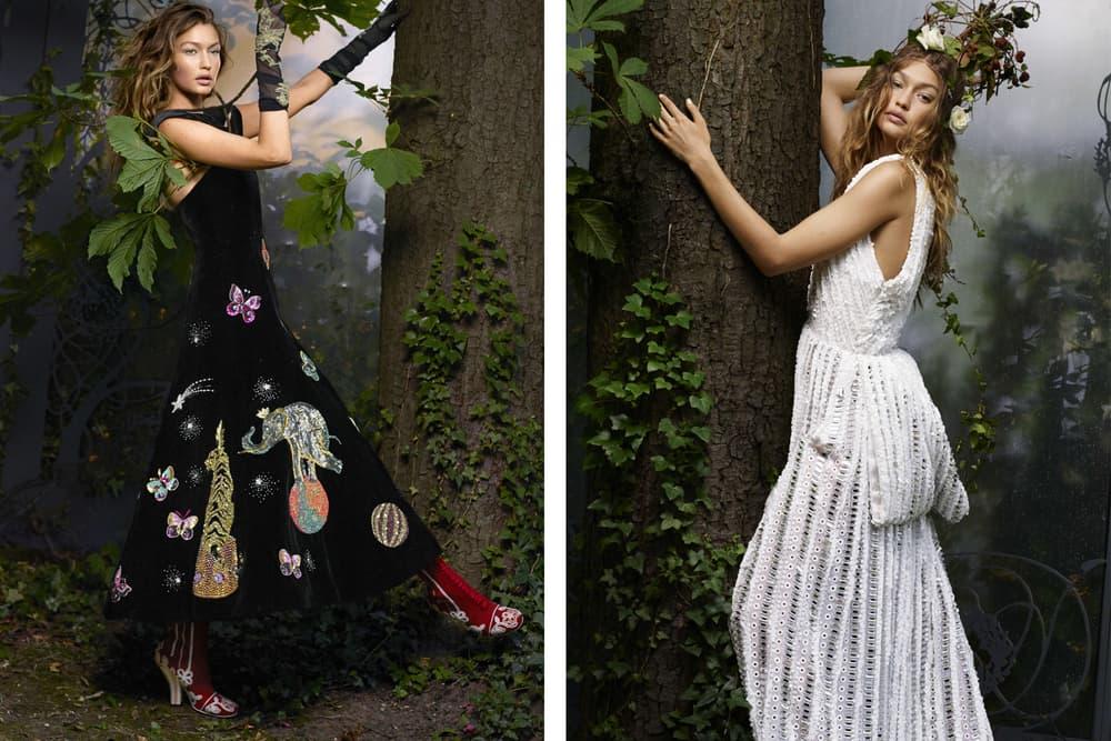 Gigi Hadid Harper's Bazaar 2016 October Issue