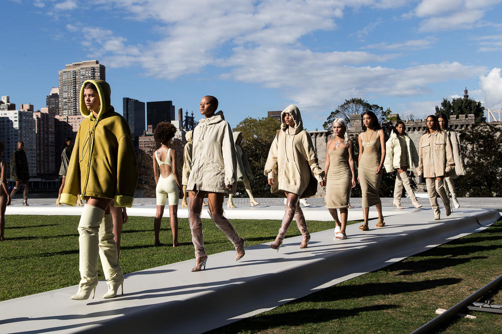 Kanye West Yeezy Season 4 Fashion Show