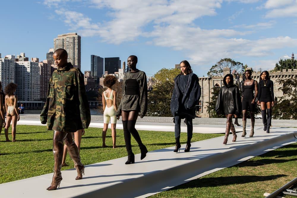 Kanye West Yeezy Season 4 Fashion Show