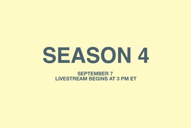 Kanye West YEEZY Season 4 TIDAL Livestream