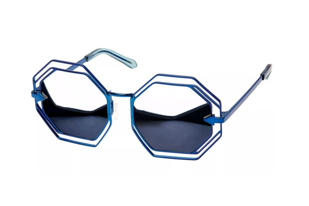karen walker eyewear sunglasses man ray metal frames