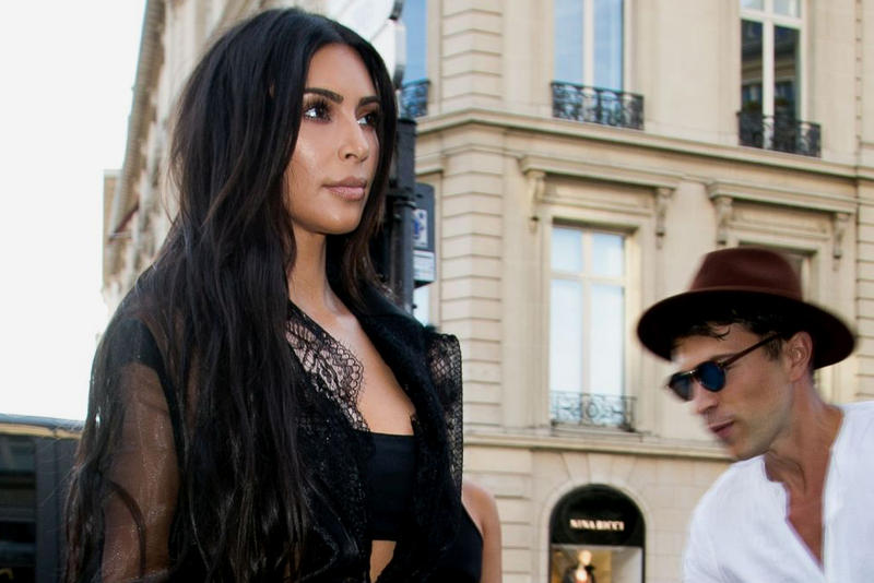 Kim Kardashian Vitalii Sediuk Prankster Paris Fashion Week