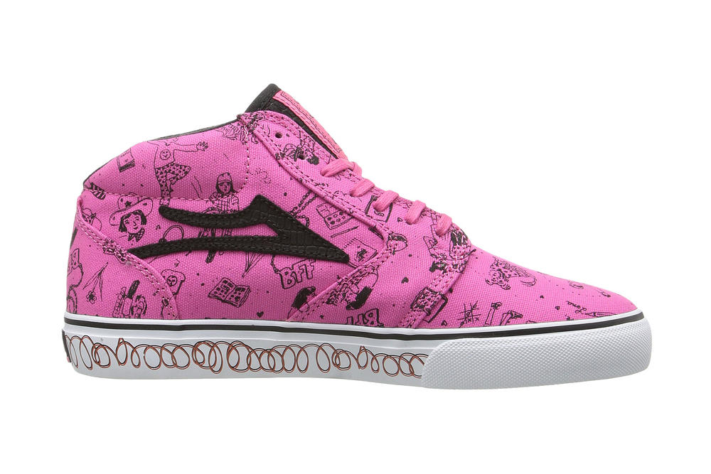 Lena Dunham Lakai Sneaker Collaboration