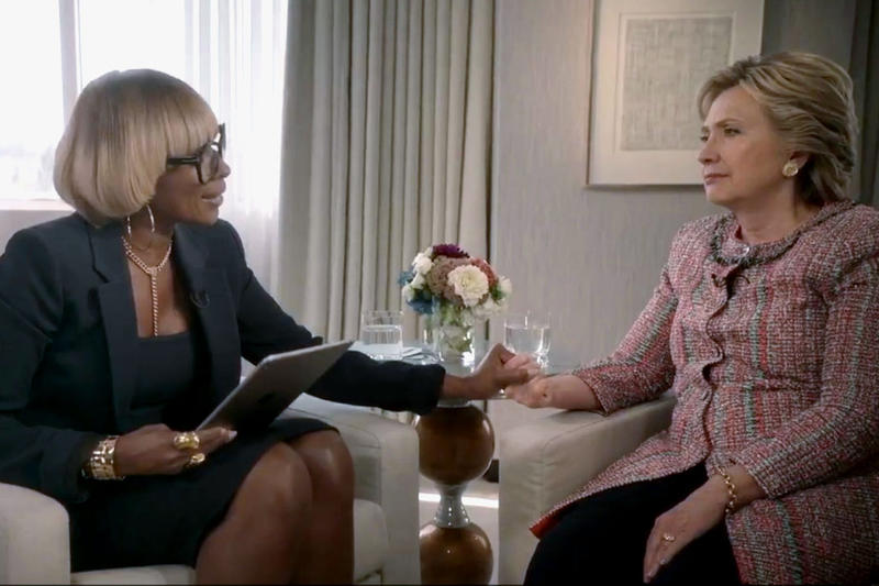 mary j blige hillary clinton interview apple music beats 1 presidential campaign