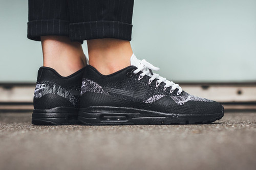 low priced a1672 2f01b Nike Drops a Monochrome Air Max 1 Ultra Flyknit In