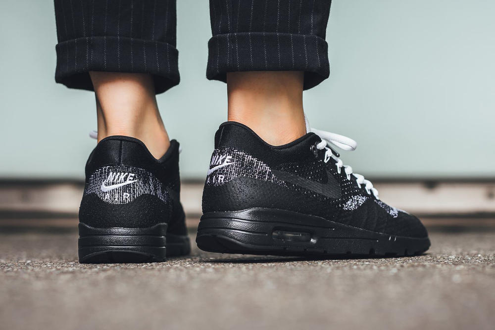 Nike Air Max 1 Ultra Flyknit Black Anthracite