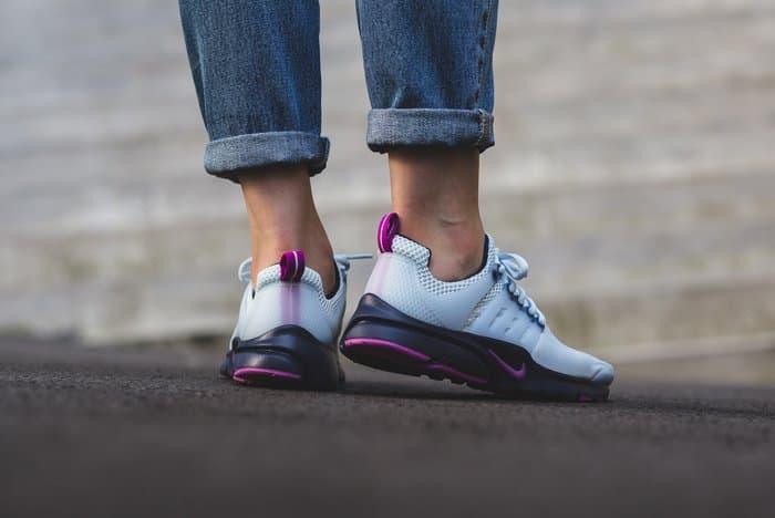 nike air presto blue tint runners sneakers hyper violet midnight navy