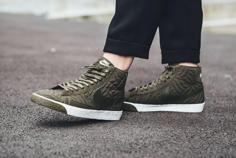 Nike Blazer Mid Premium SE Dark Loden