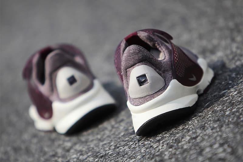 Nike Sock Dart Maroon Grey