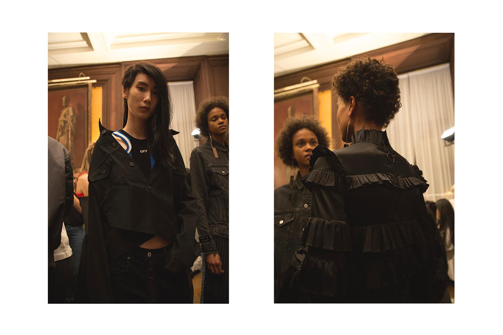 OFF-WHITE 2017 Spring Summer Collection Backstage