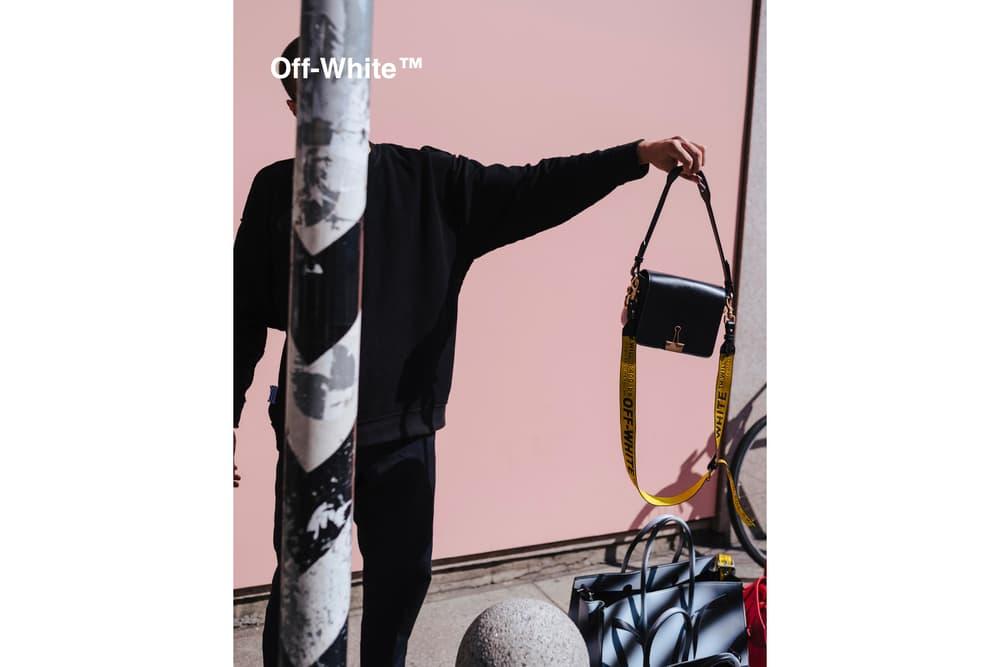 OFF-WHITE Spring Summer 2017 Binder Clip Bag