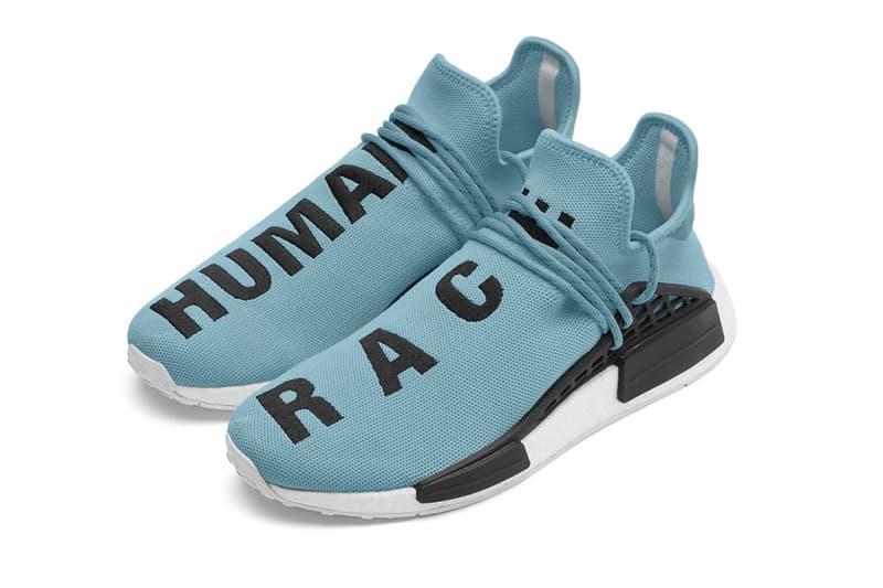 a7ebb1da2 Pharrell Williams adidas Hu NMD Baby Blue