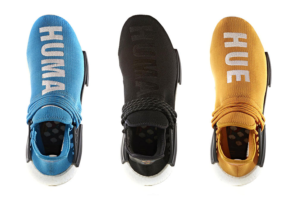 f8ebdcb0e Five New Pharrell Williams x adidas Hu NMD Colors Are Revealed