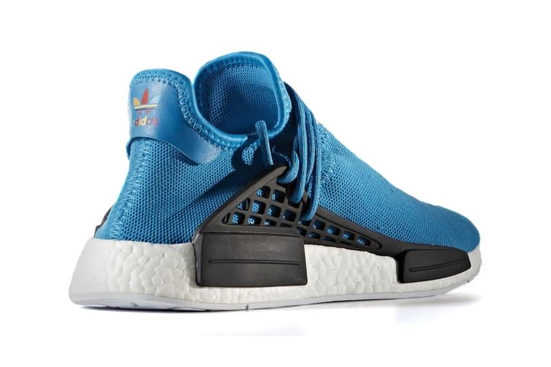 Pharrell Williams adidas Light Blue Hu NMD