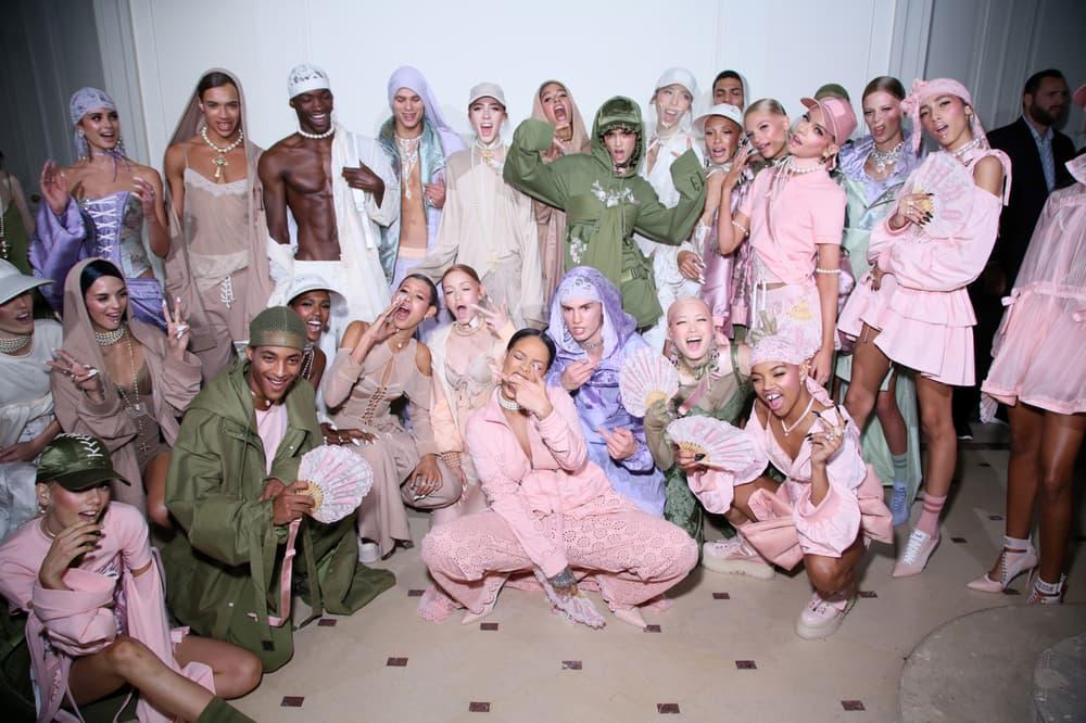 Rihanna Fenty x PUMA 2017 Spring Summer Backstage