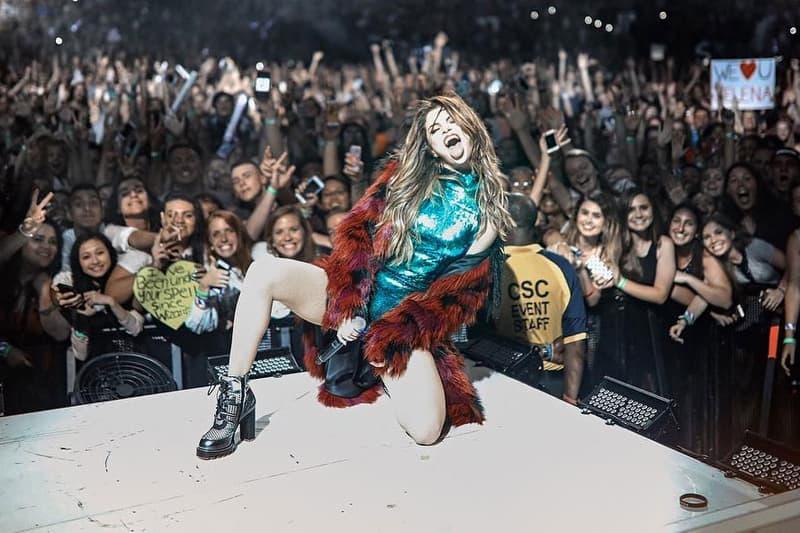 selena gomez instagram 100 million followers concert performance tour washington