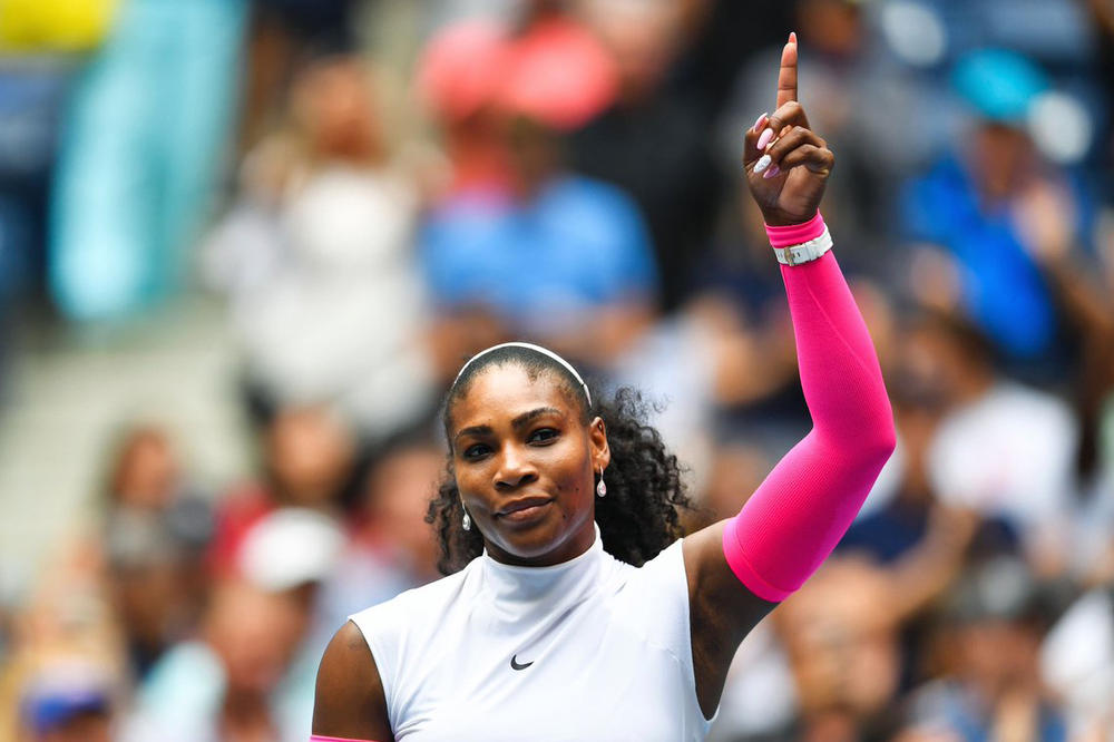 Serena Williams Grand Slam Record Win Roger Federer