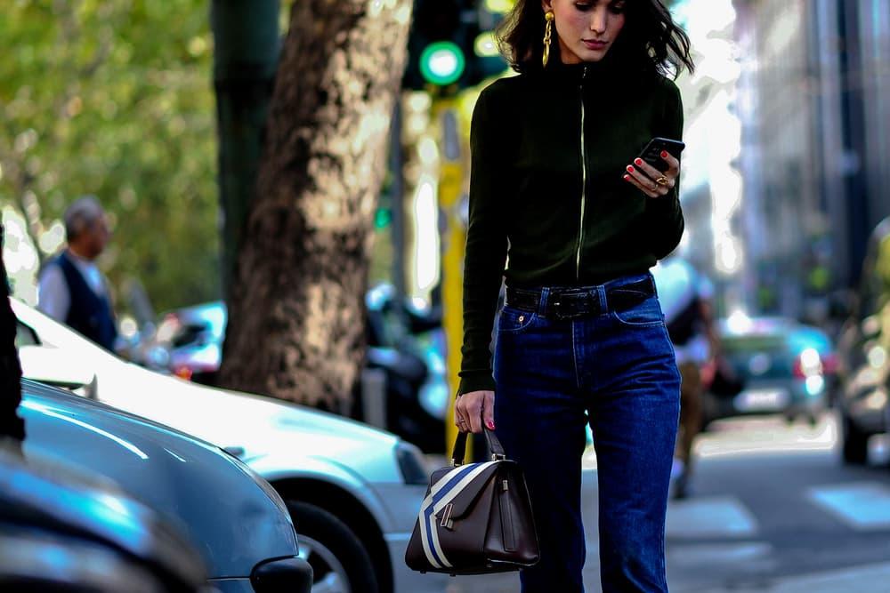 streetsnaps milan fashion week mfw street style jw anderson chanel bomber jackets