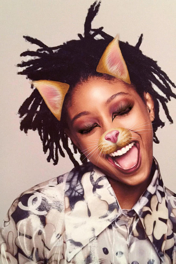 Willow Smith Snapchat Filters Garage Magazine