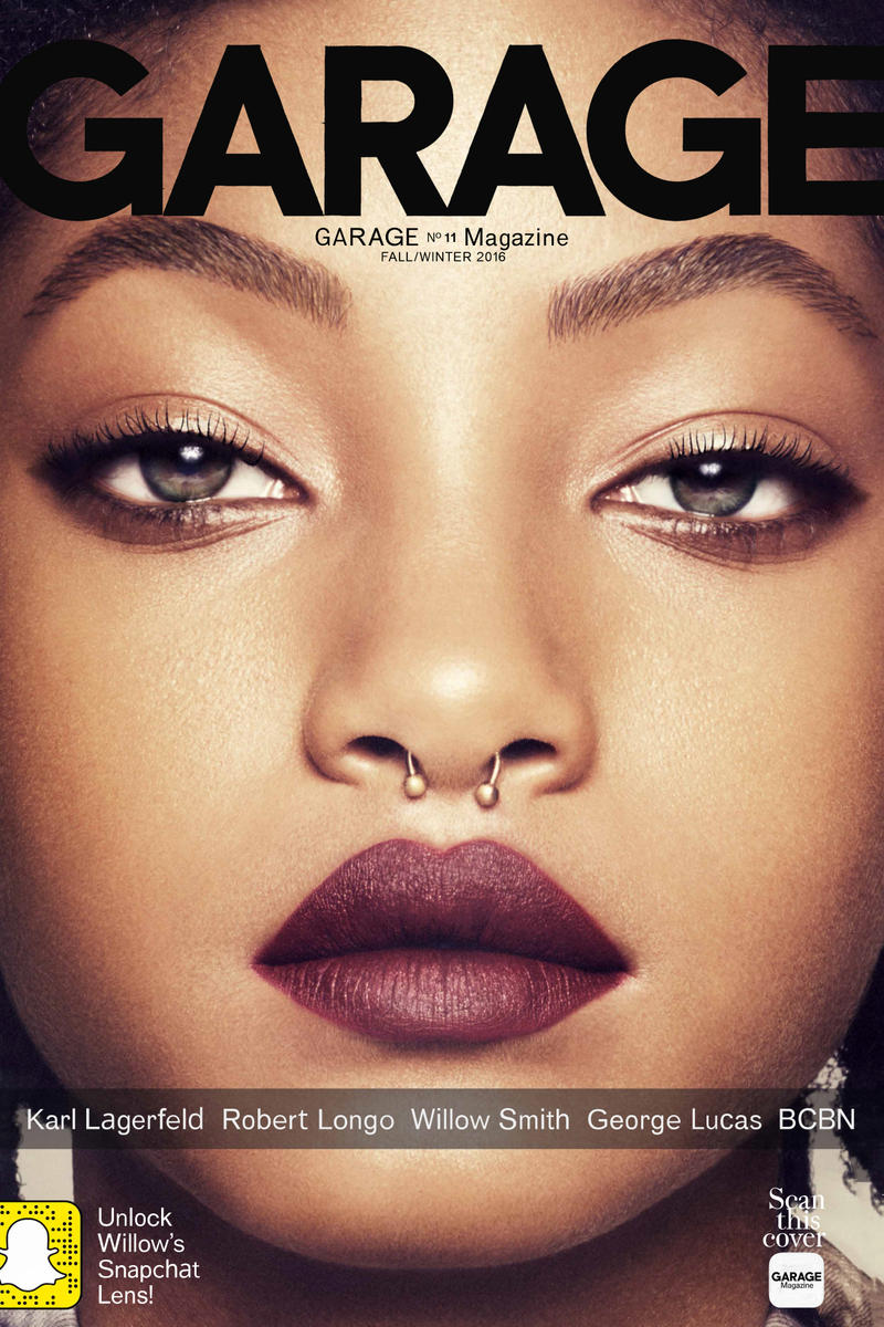 Willow Smith Snapchat Filters Garage Magazine