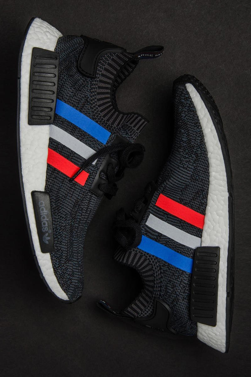 first rate a1320 4b2a3 adidas NMD R1 Primeknit Tri Color Pack Closer Look | HYPEBAE
