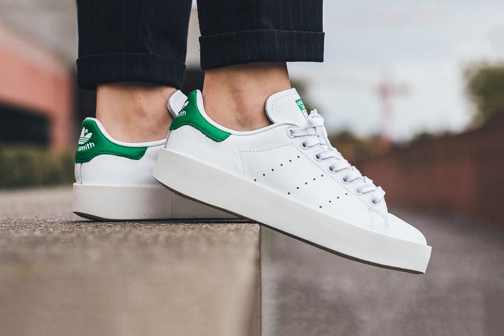 adidas Stan Smith Bold Footwear White Green