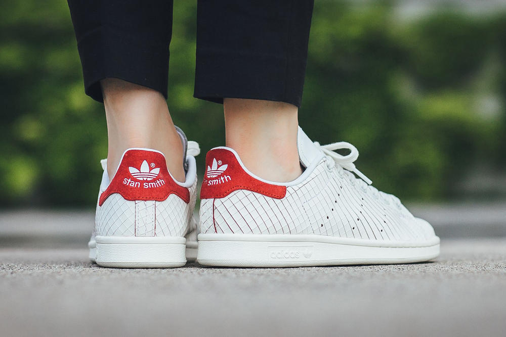 adidas Stan Smith Footwear White Colred