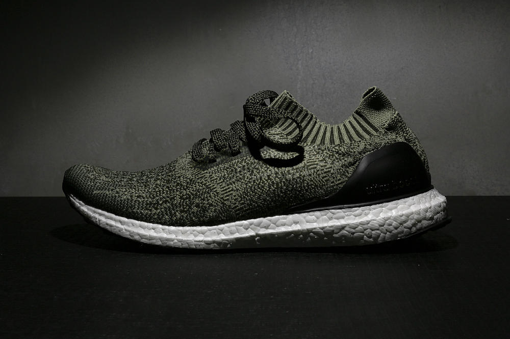 adidas UltraBOOST Uncaged Olive